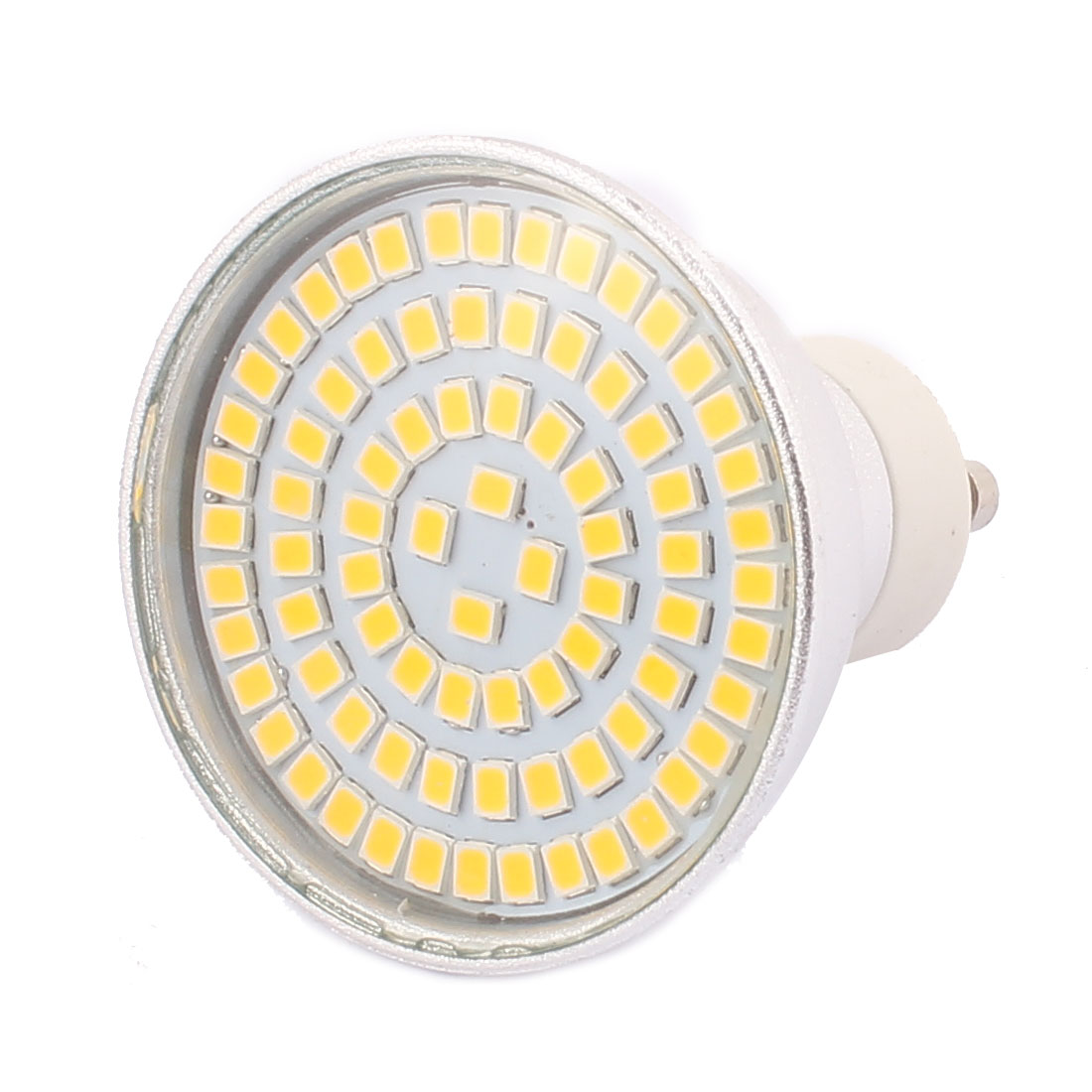 GU10 AC 110V 8W SMD 2835 80 LEDs Aluminum Energy Saving LED Lamp Bulb Warm White