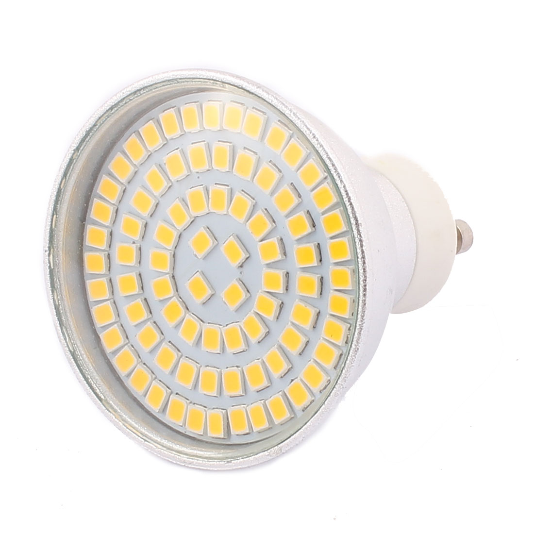 GU10 AC 220V 8W SMD 2835 80 LEDs Aluminum Energy Saving LED Lamp Bulb Warm White