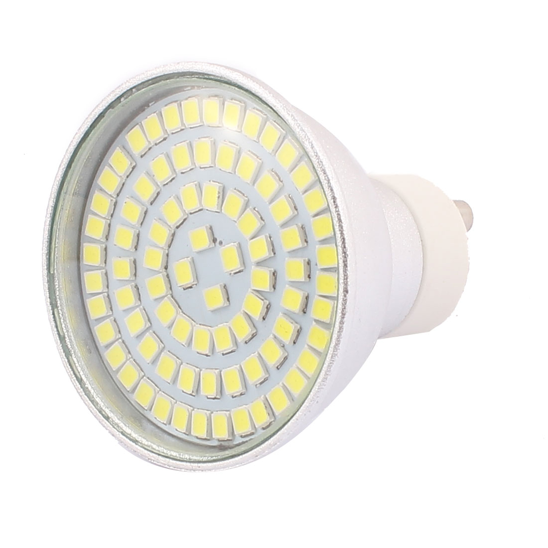 GU10 SMD 2835 80 LEDs Aluminum Energy Saving LED Lamp Bulb White AC 110V 8W