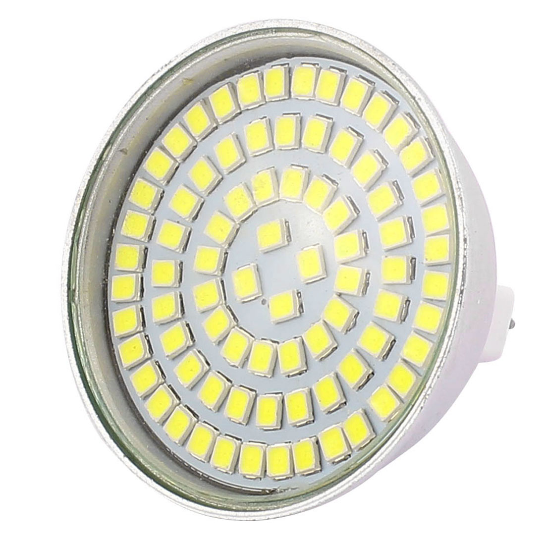 MR16 SMD 2835 80 LEDs Aluminum Energy Saving LED Lamp Bulb White AC 110V 8W