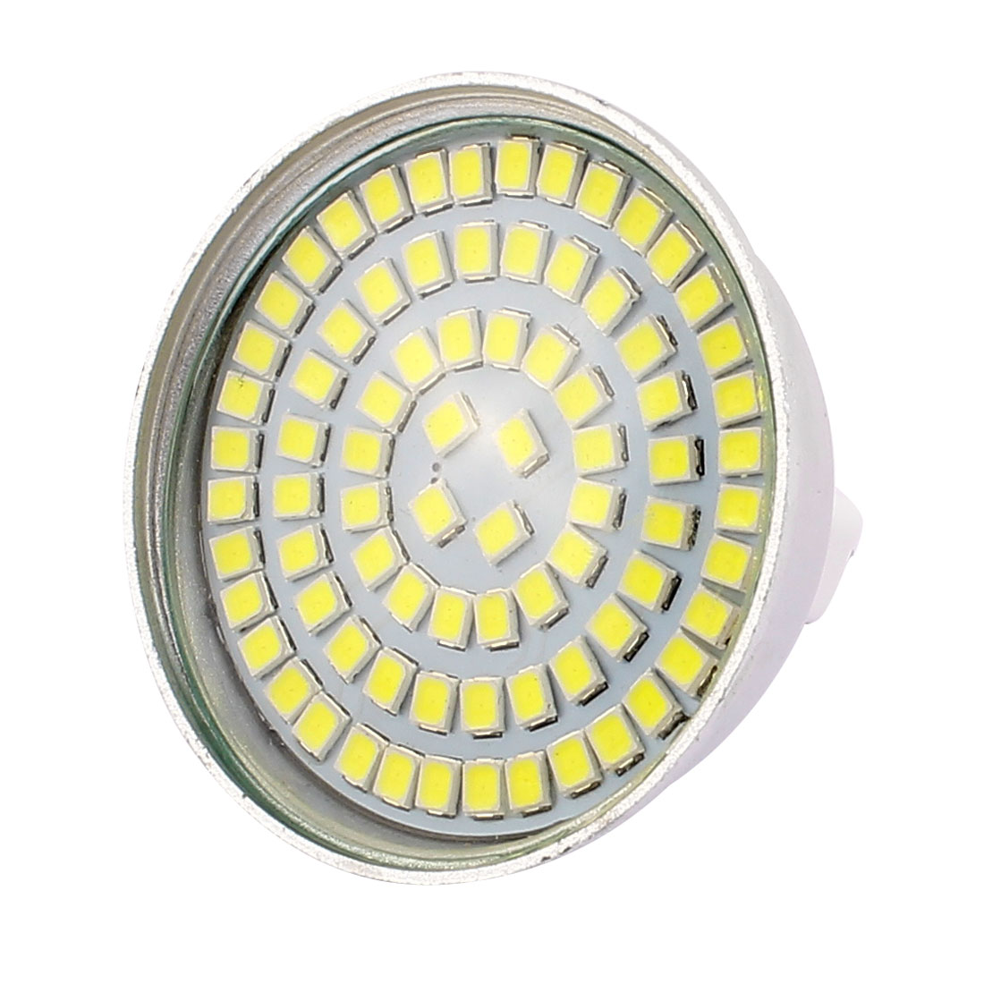 MR16 SMD 2835 80 LEDs Aluminum Energy Saving LED Lamp Bulb White AC 220V 8W