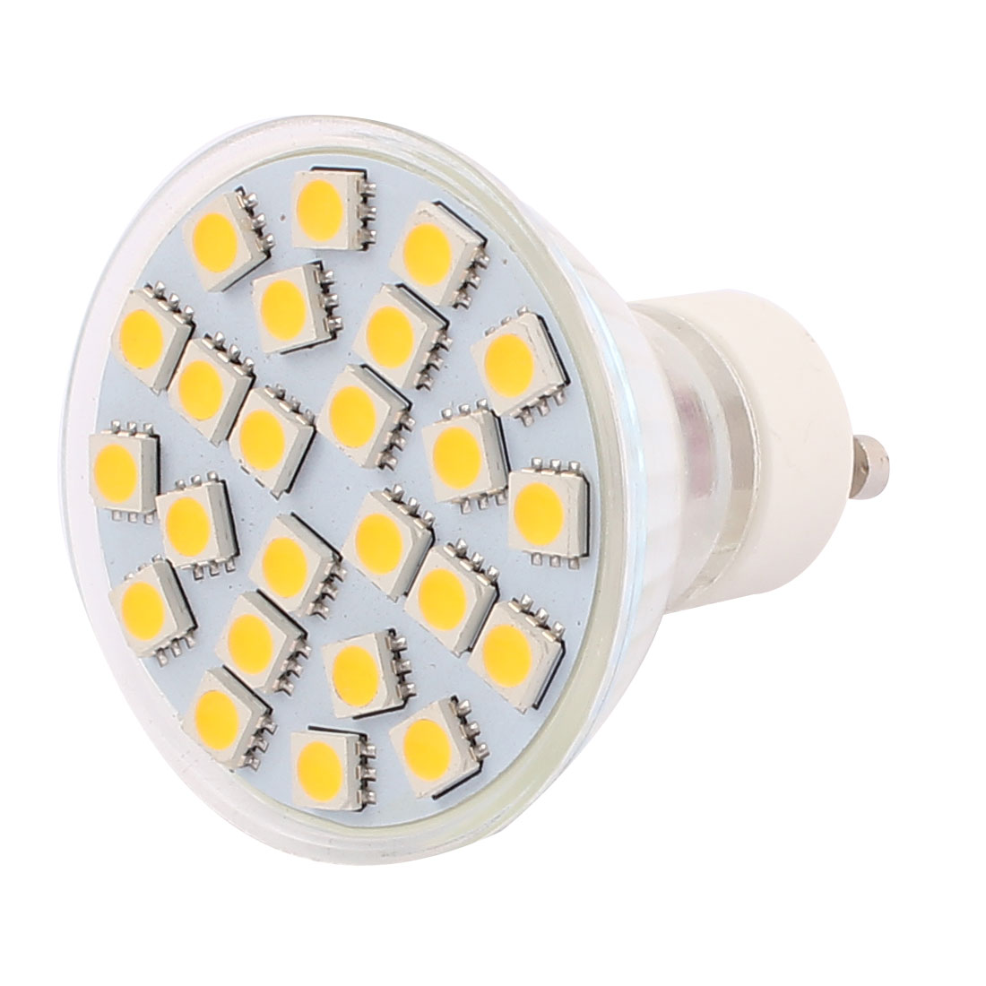 GU10 AC 110V 3W SMD 5050 24 LEDs Glass Energy Saving LED Lamp Bulb Warm White