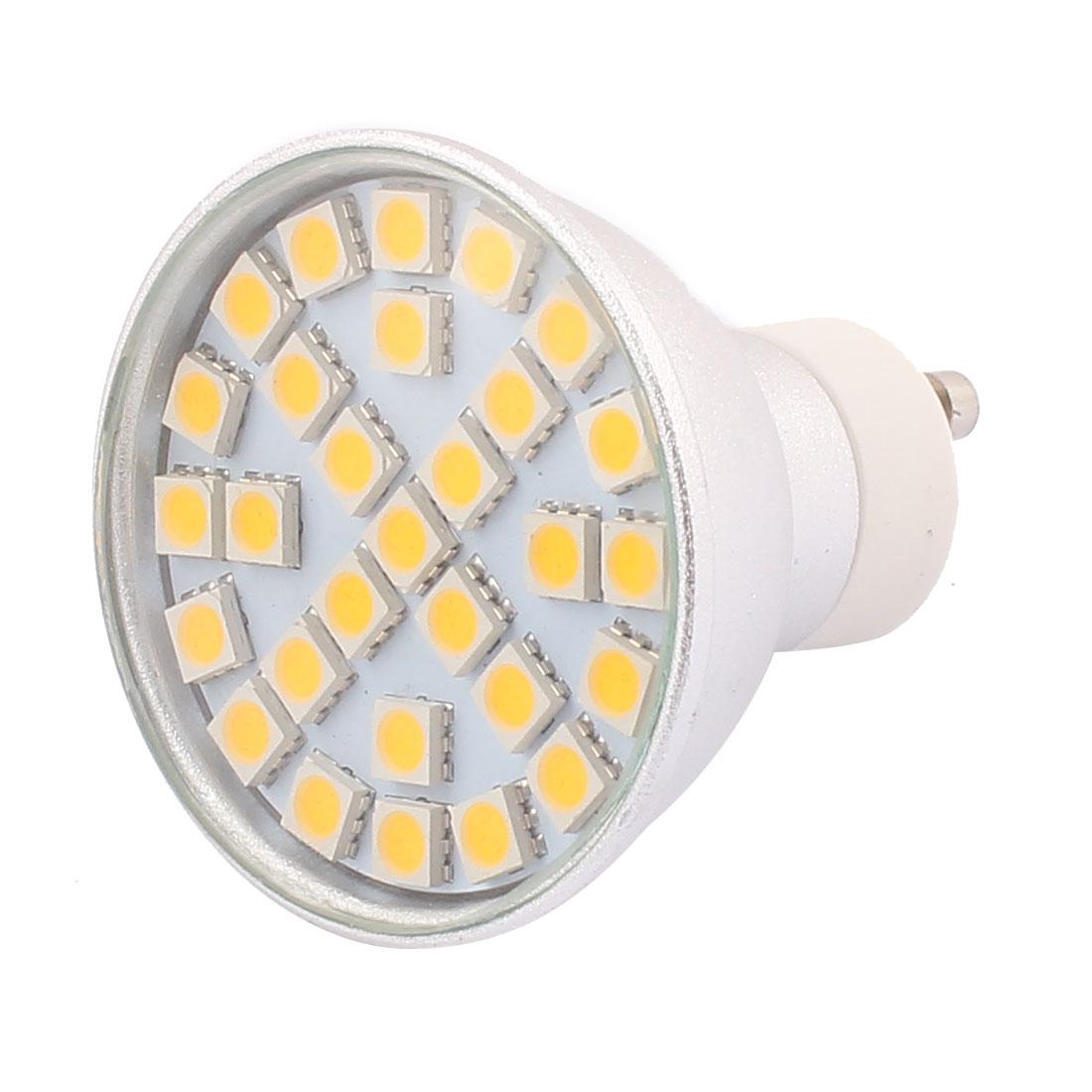 GU10 SMD5050 29LEDs Aluminum Energy Saving LED Lamp Bulb Warm White AC 110V 5W