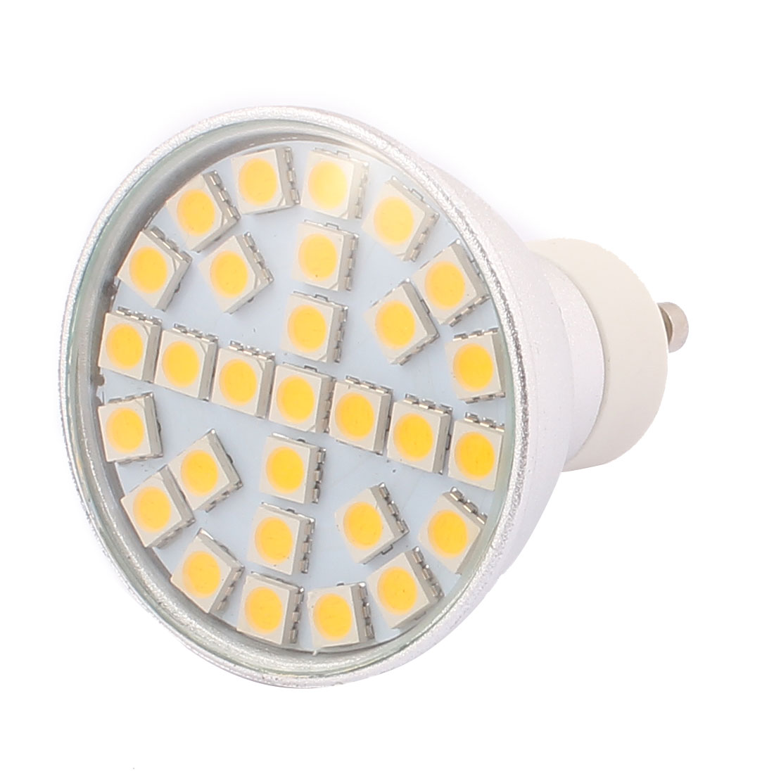 GU10 SMD5050 29LEDs Aluminum Energy Saving LED Lamp Bulb Warm White AC 220V 5W