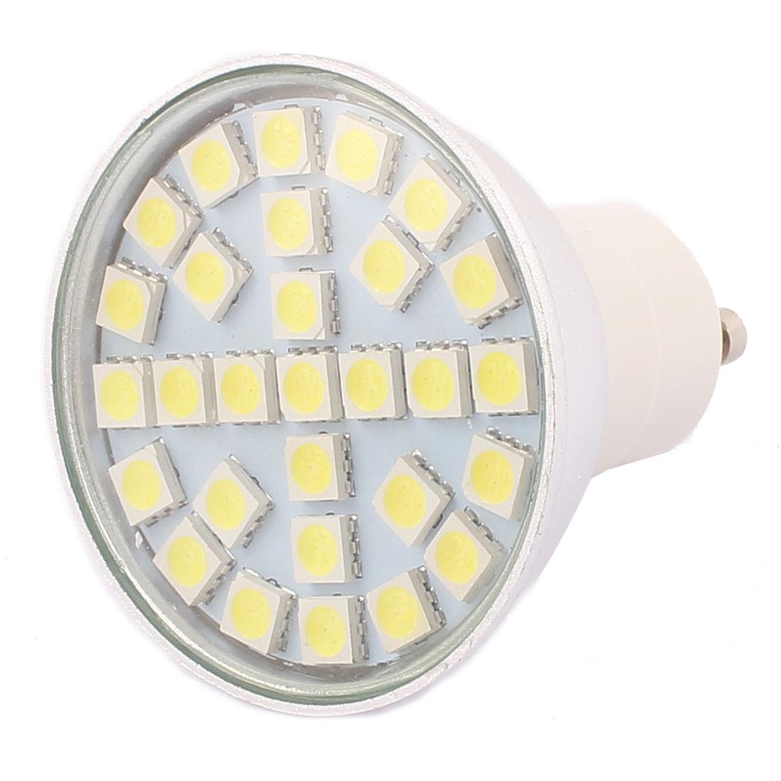 GU10 SMD5050 29LEDs Aluminum Energy Saving LED Lamp Bulb White AC 220V 4W