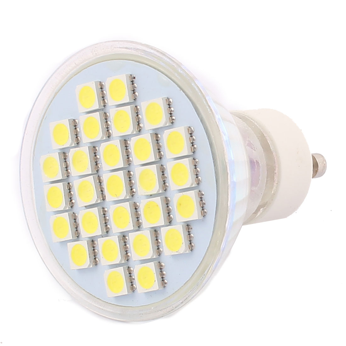 GU10 SMD5050 27LEDs AC 110V 4W Glass Energy Saving LED Lamp Bulb White