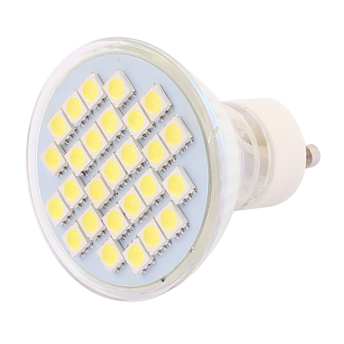 GU10 SMD5050 27LEDs AC 220V 4W Glass Energy Saving LED Lamp Bulb White