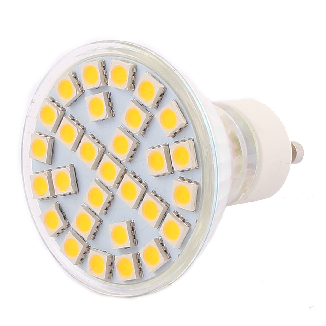 GU10 SMD5050 29LEDs AC 110V 5W Glass Energy Saving LED Lamp Bulb Warm White