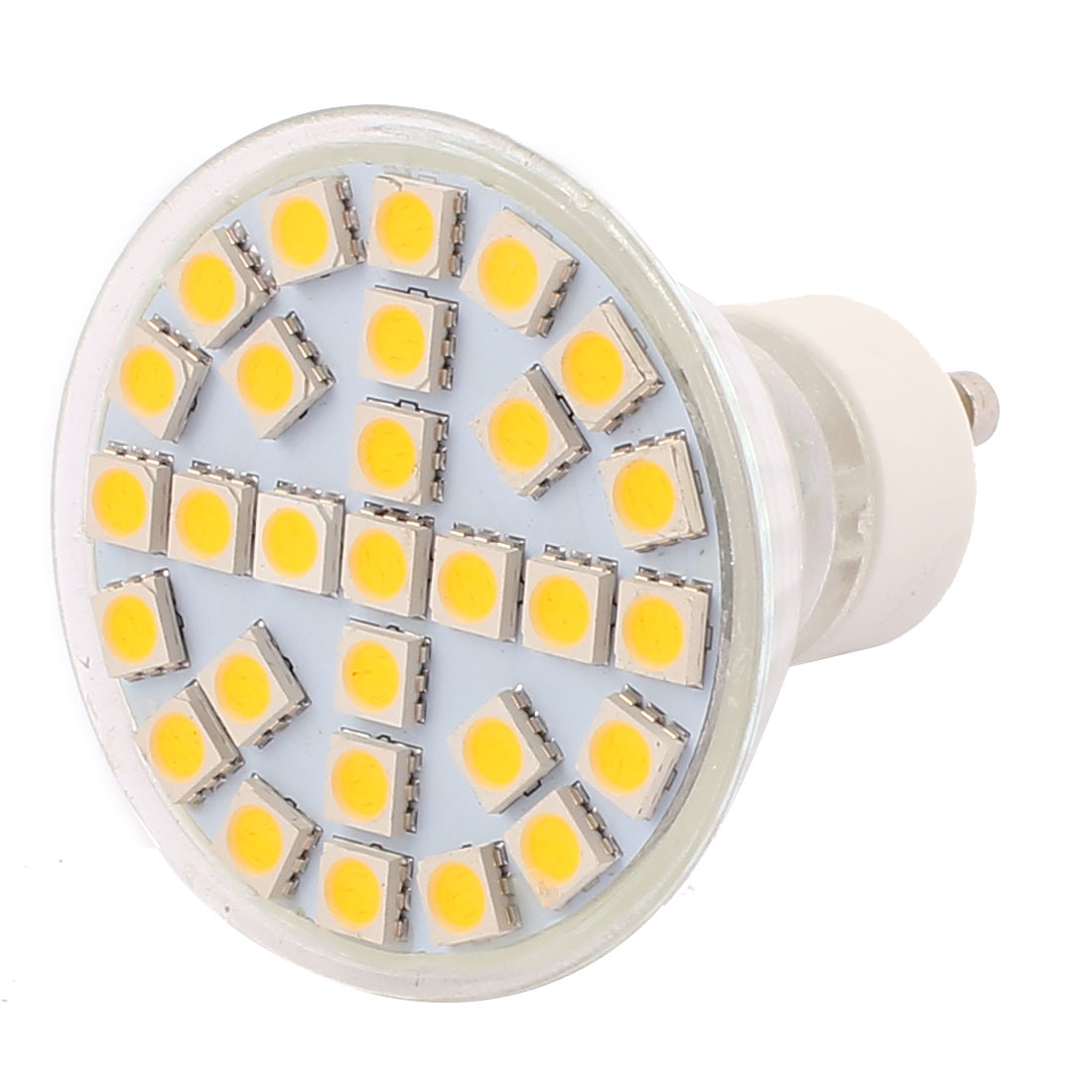 GU10 SMD5050 29LEDs AC 220V 5W Glass Energy Saving LED Lamp Bulb Warm White