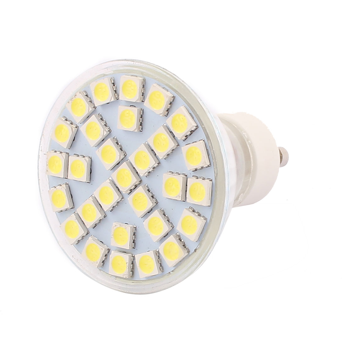 GU10 SMD5050 29LEDs 5W Glass Energy Saving LED Spotlight Lamp Bulb White AC 220V