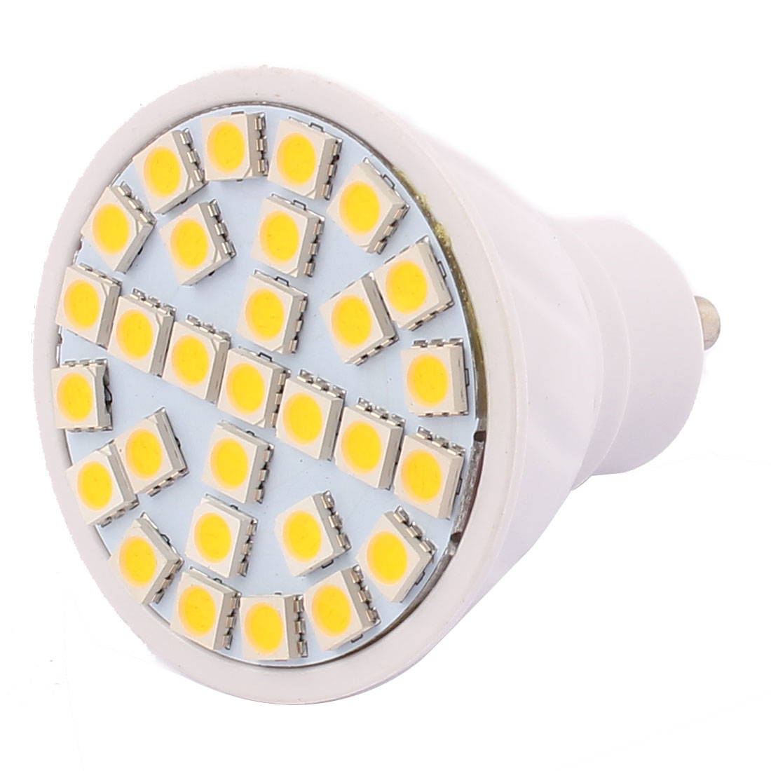 GU10 SMD5050 29 LEDs 5W Energy Saving LED Spotlight Lamp Bulb Warm White AC 220V