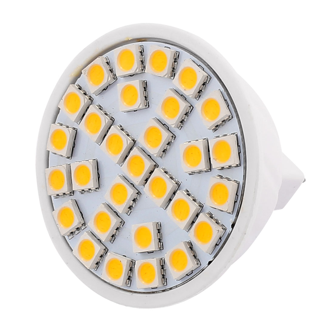 MR16 SMD5050 29 LEDs 5W Energy Saving LED Spotlight Lamp Bulb Warm White AC 220V