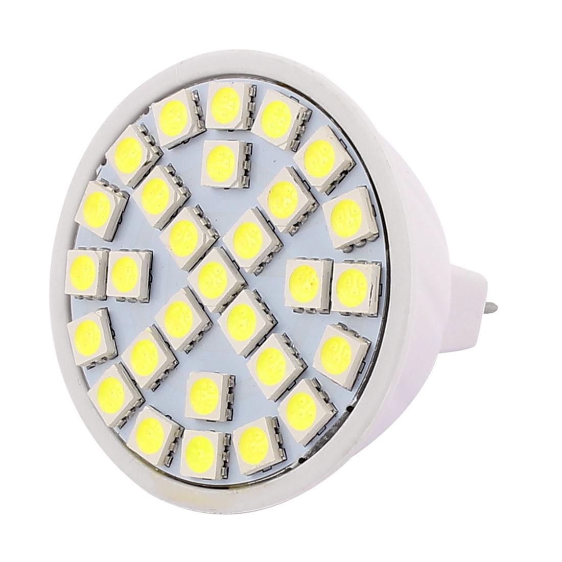 MR16 Smd5050 29LEDs 5W Energy Saving LED Spot Light Lamp Bulb AC 220V White