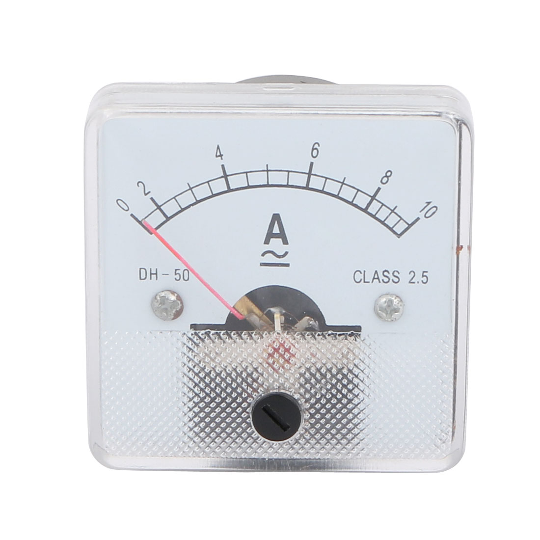 Class 2.5 Accuracy AC DC 0-10A Analog Panel Ammeter Amperemeter Gauge DH-50