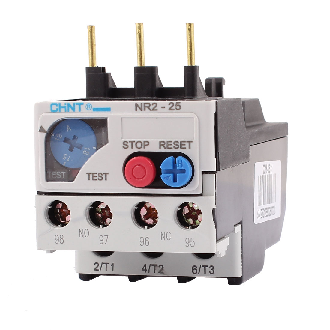 NR2-25/Z 12-18A 3 Pole 1 NO 1 NC Motor Protector Electric Thermal Overload Relay