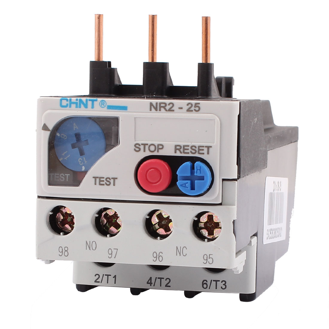 NR2-25 9-13A 3 Pole 1 NO 1 NC Motor Protector Electric Thermal Overload Relay