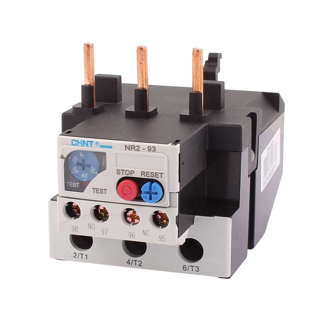 NR2-93 23-32A 3 Pole 1 NO 1 NC Motor Protector Electric Thermal Overload Relay