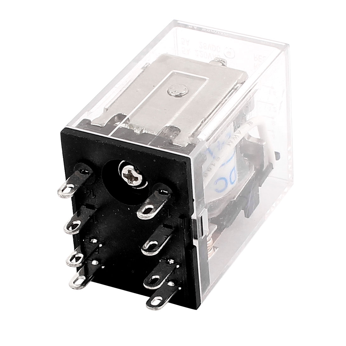 DC 24V Coil 8 Pin 2NO 2NC General Purpose Mini Electromagnetic Power Relay