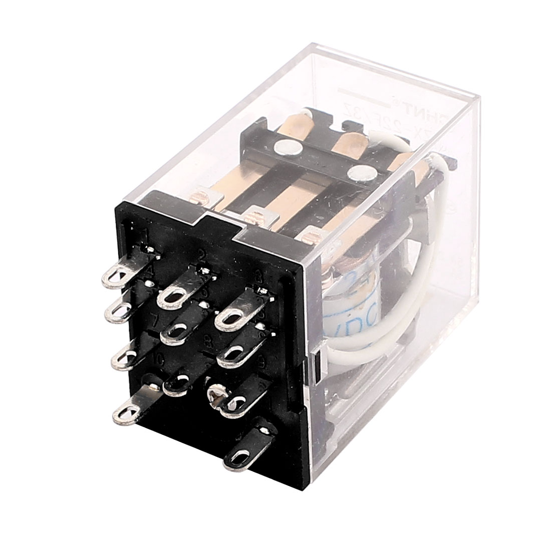 DC 24V Coil 11 Pin 3NO 3NC General Purpose Mini Electromagnetic Power Relay