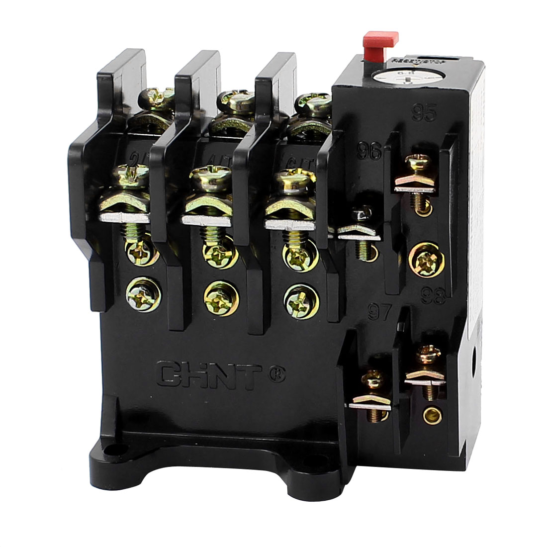 JR36-20 6.8-11A 3 Pole 1 NO 1 NC Motor Protector Electric Thermal Overload Relay