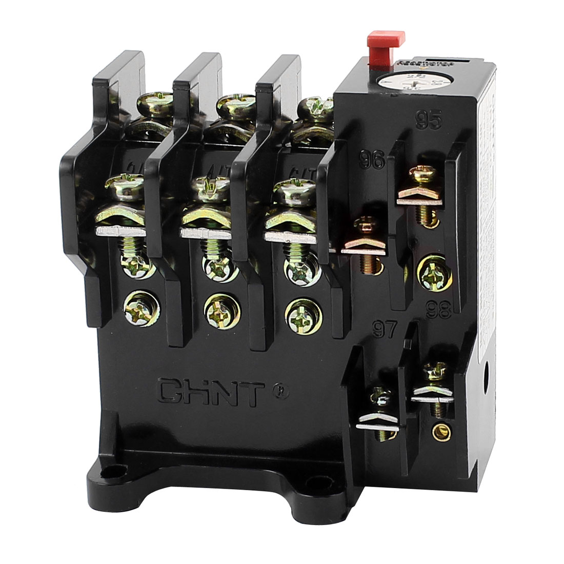 JR36-20 2.2-3.5A 3 Phase 1 NO 1 NC Motor Protector Electric Thermal Overload Relay