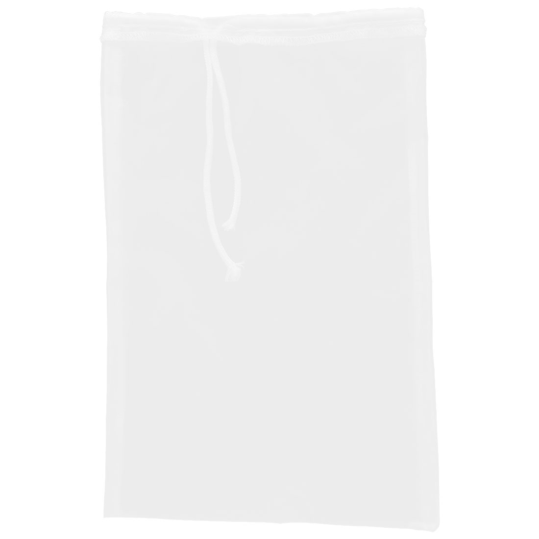 Home Kitchen Herb Spices Soybean Food Mesh Filter Bag White 30cm x 20cm