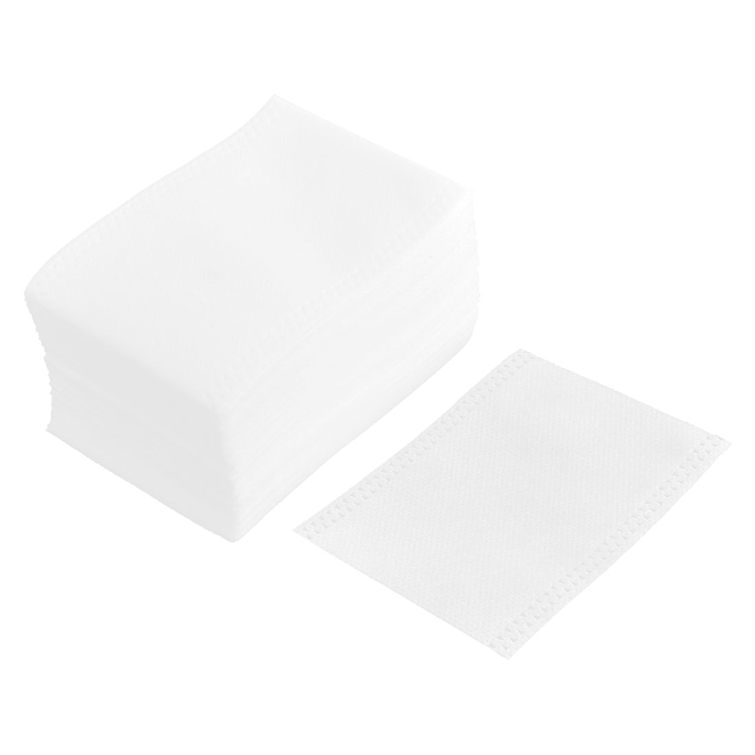 Household Non-woven Fabric Empty Powder Spice Tea Filter Bag White 100 Pcs