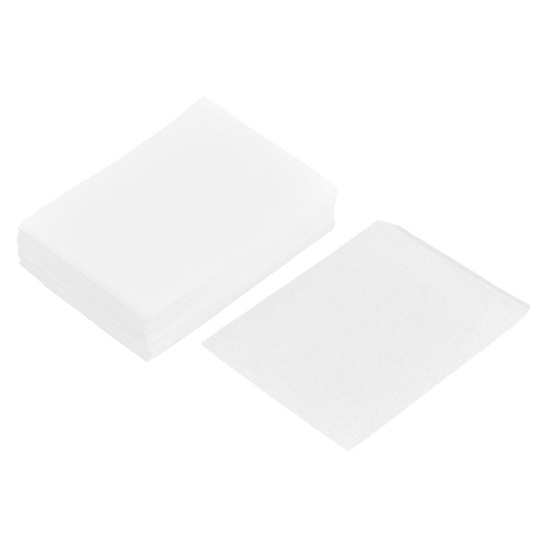 Household Paper Disposable Empty Herbal Powder Spice Tea Filter Bag White 8cm x 6cm 100 Pcs