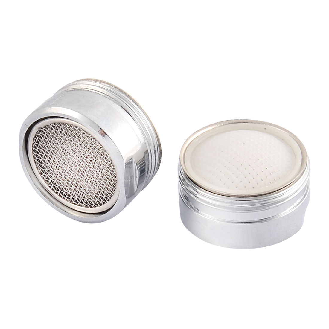 Household Kitchen Metal Faucet Filter Net Nozzle 22mm Male Thread 2 Pcs
