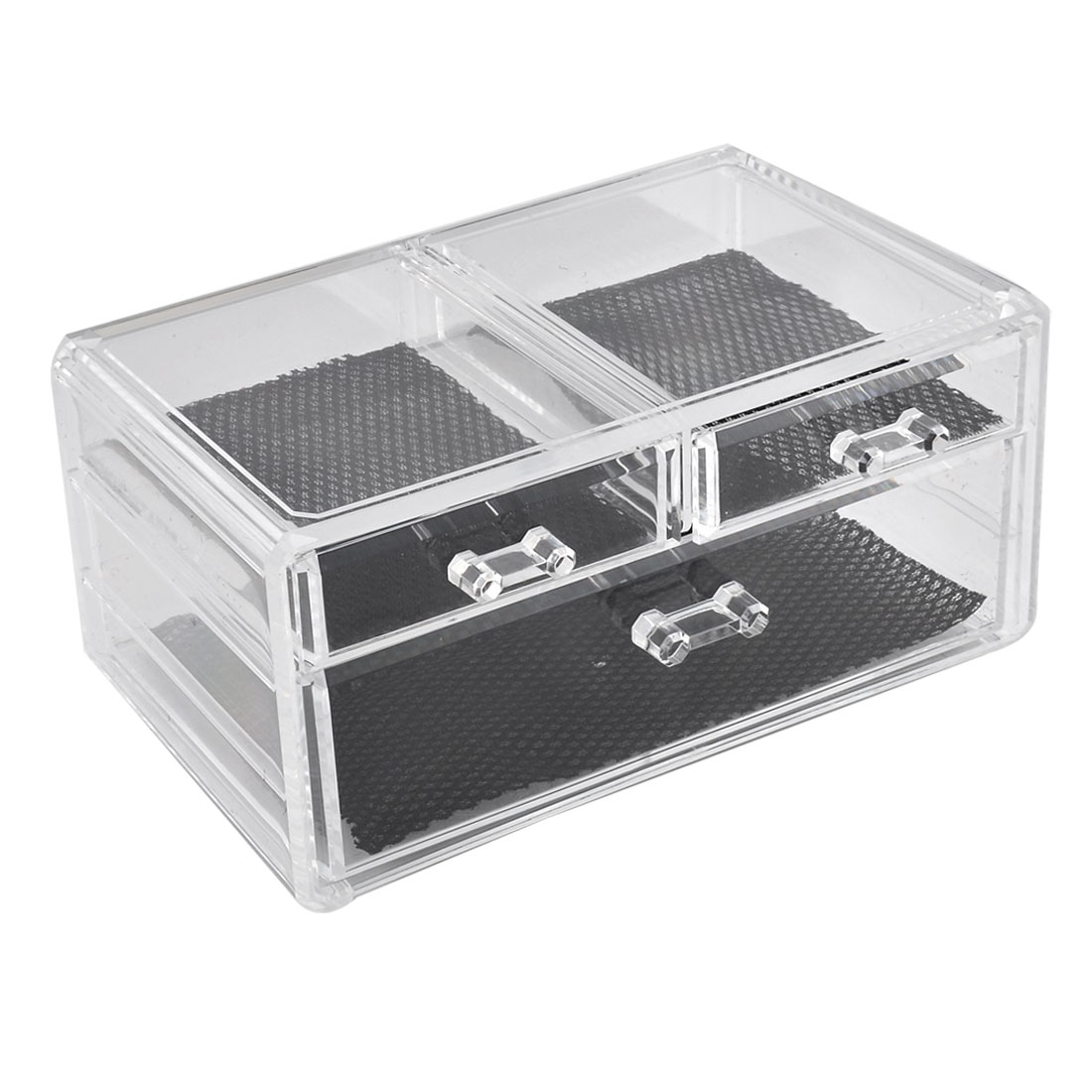 Lady Dresser Acrylic Cosmetic Organizer Storage Drawer Case Display Box Jewelry Holder