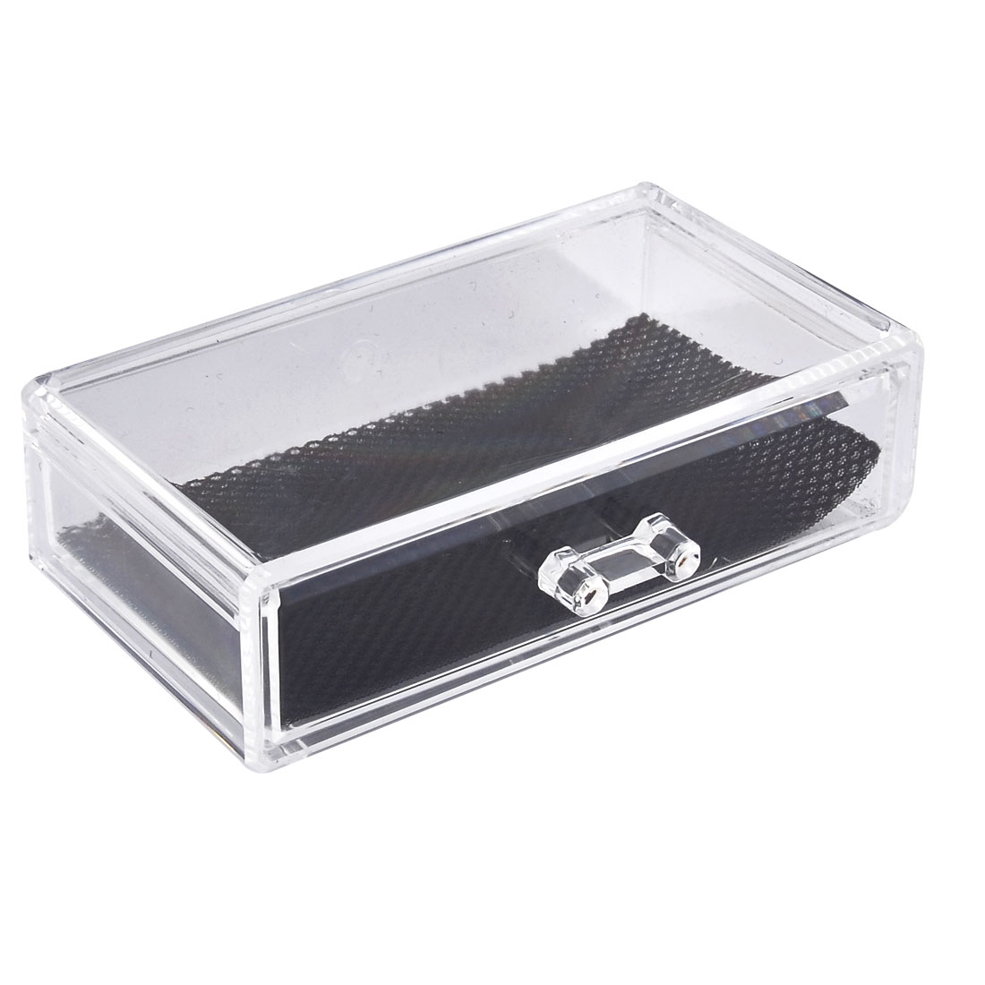 Household Acrylic Rectangle Shaped Jewelry Makeup Box Organizer Drawers