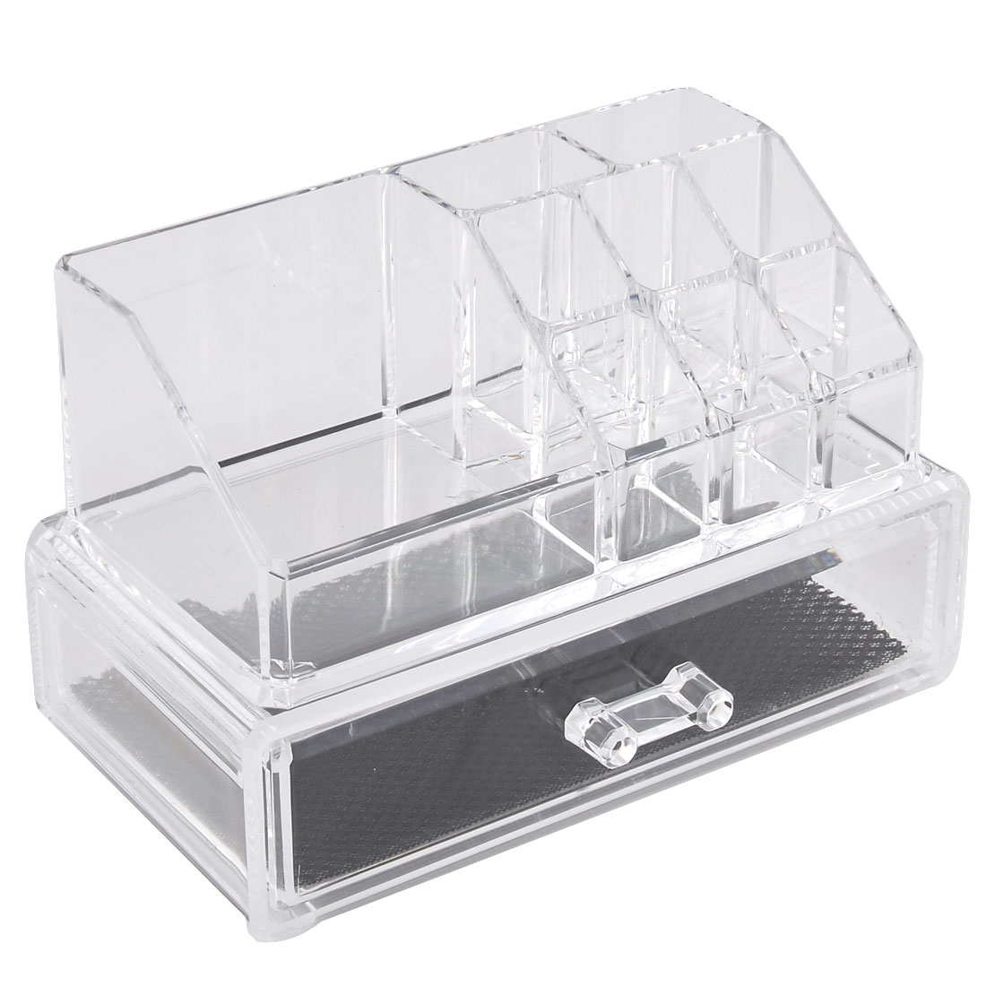 Household Acrylic Double Layers Jewelry Box Organizer Necklace Keeper Set 2 in 1