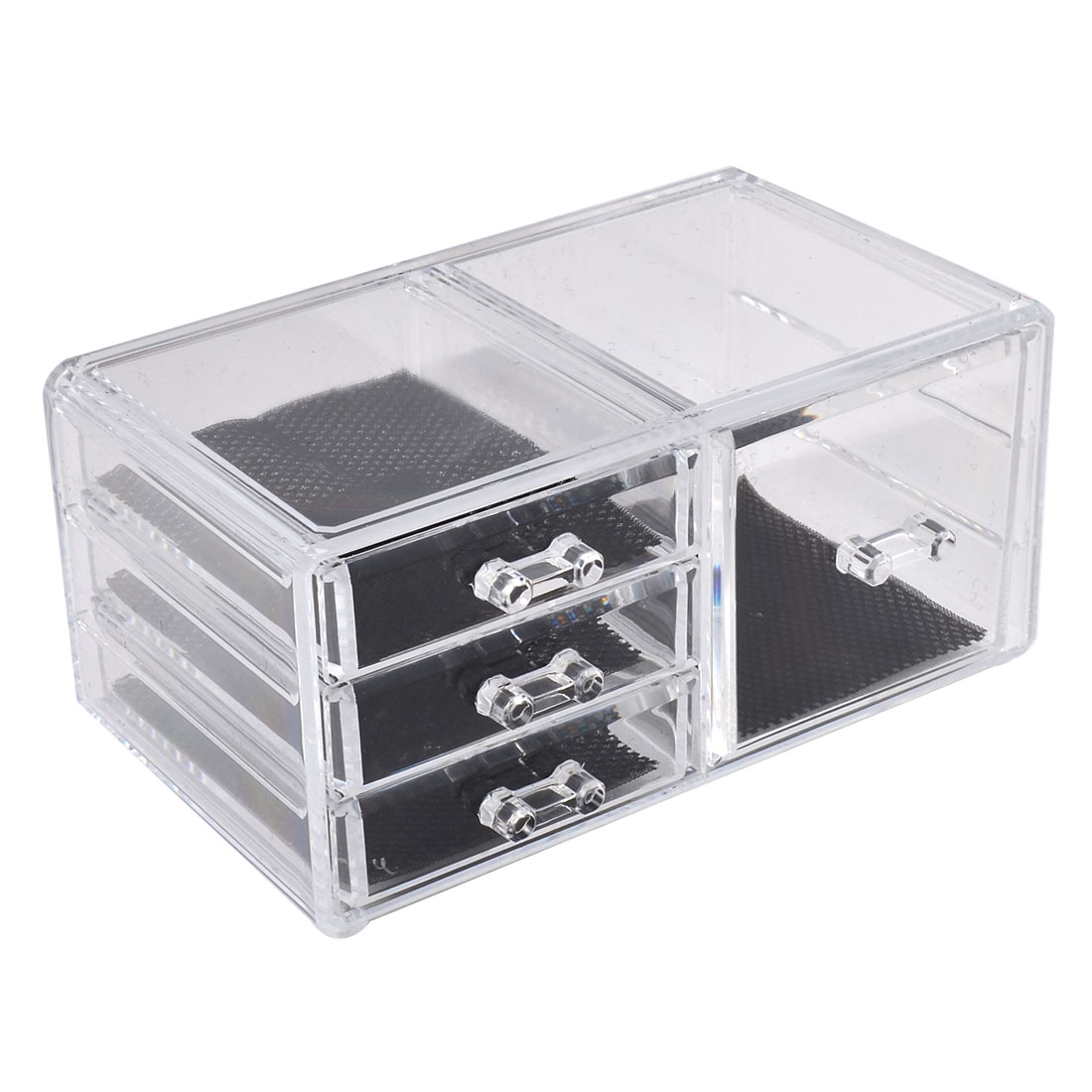 Acrylic Cosmetics Organizer Jewelry Storage Drawer Case Display Box