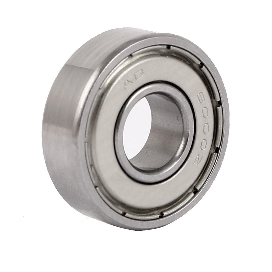 ZZ6000 26mmx10mmx8mm Single Row Deep Groove Shielded Ball Bearing