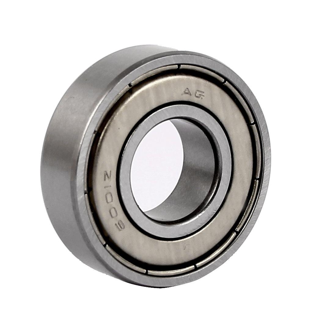 8mm x 12mm x 28mm Single Row Shielded Deep Groove Ball Bearing