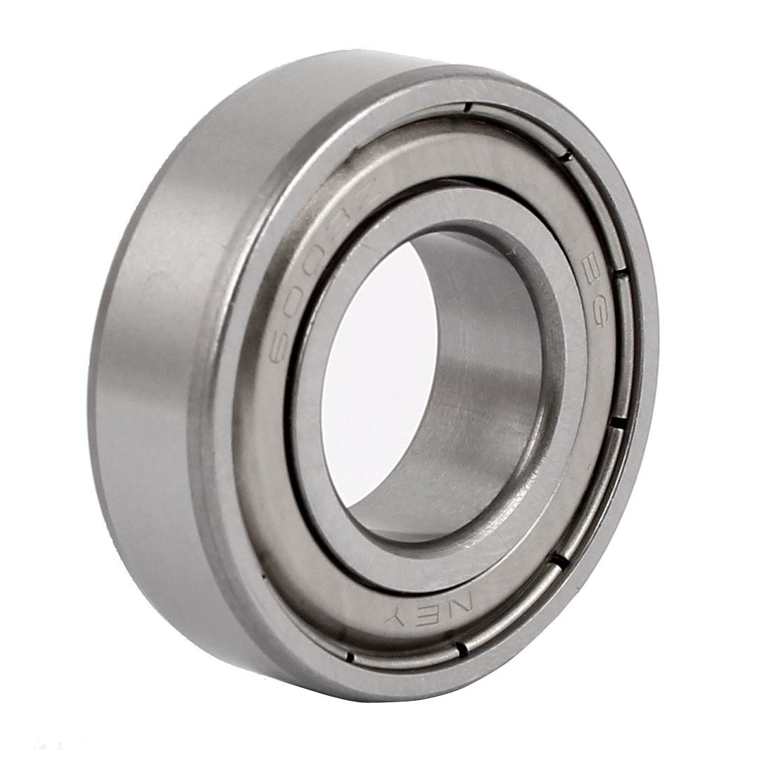 ZZ6003 Double Shielded Deep Groove Ball Bearing 35mmx17mmx10mm