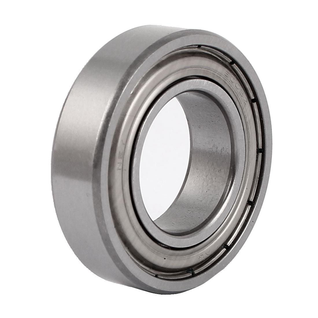 ZZ6005 47mmx25mmx12mm Single Row Deep Groove Shielded Ball Bearing