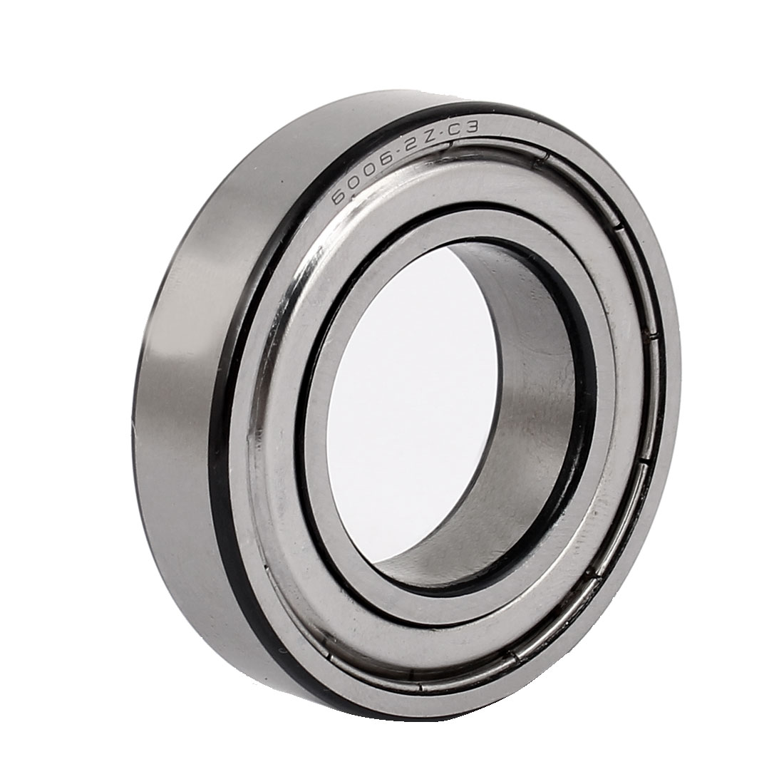 ZZ6006 55mm x 30mm x 13mm Pressed Steel Cage Sealed Deep Groove Ball Bearing