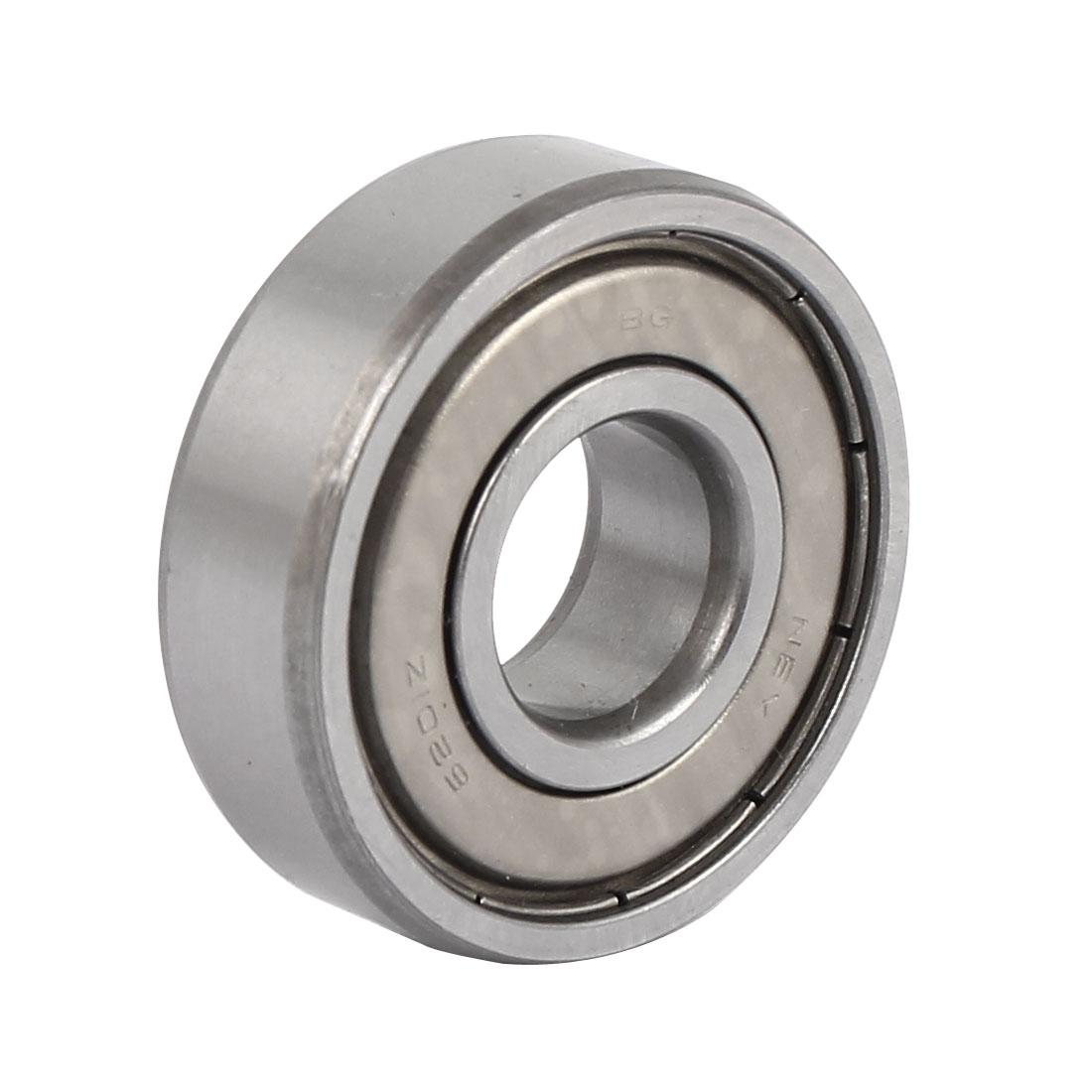10mm x 32mm x 12mm Single Row Shielded Deep Groove Ball Bearing