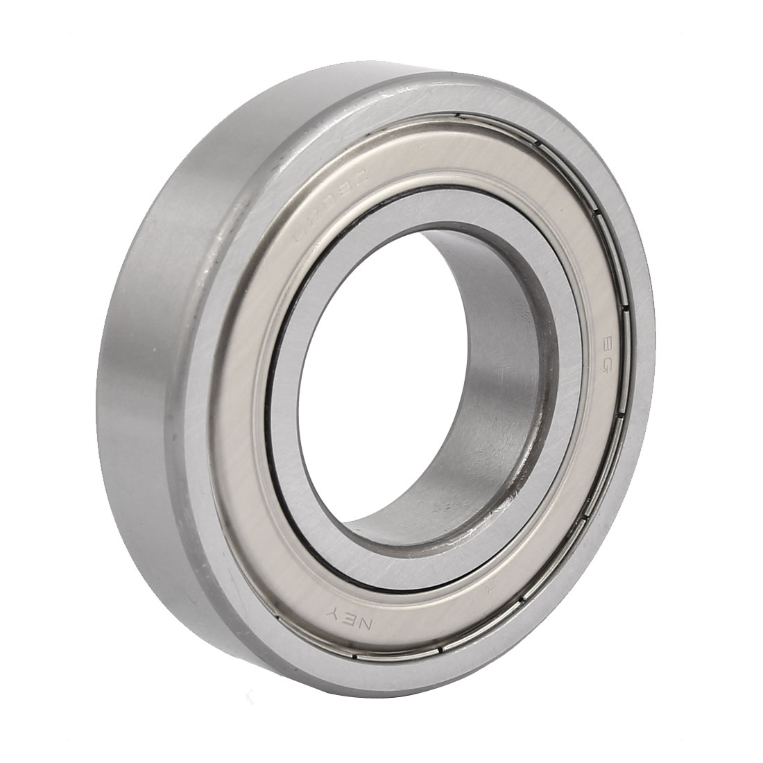 ZZ6208 80mm x 39.5mm Pressed Steel Cage Double Sealed Deep Groove Ball Bearing