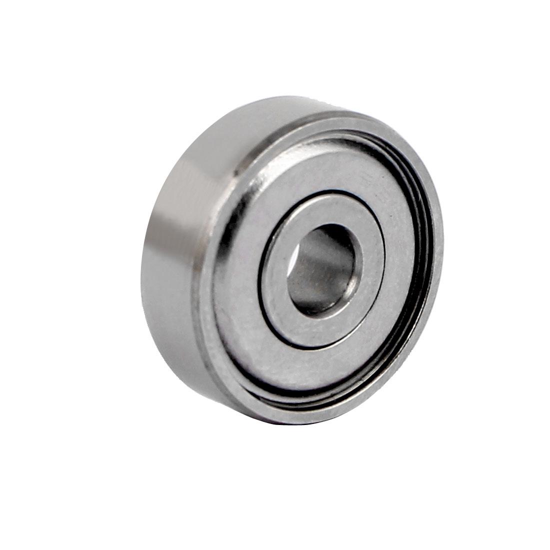 ZZ635 Dual Steel Shields Deep Groove Ball Bearing 19mmx5mmx6mm
