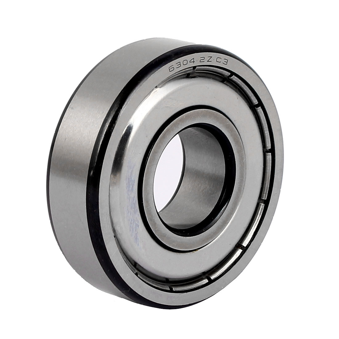 ZZ6304 52mmx20mmx15mm Single Row Deep Groove Shielded Ball Bearing
