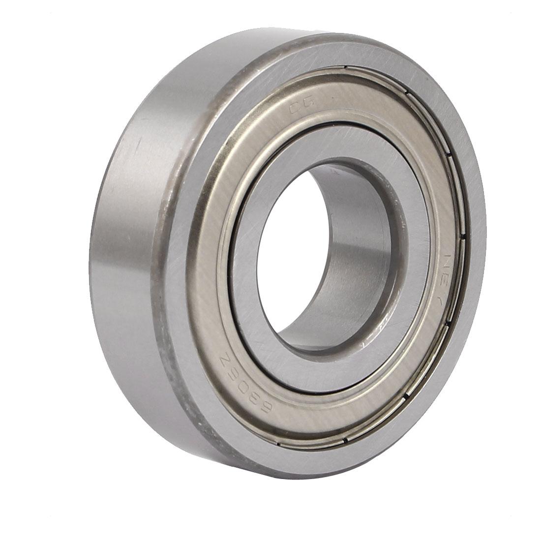 ZZ6305 62mm x 24.5mm Single Row Double Shielded Deep Groove Ball Bearing