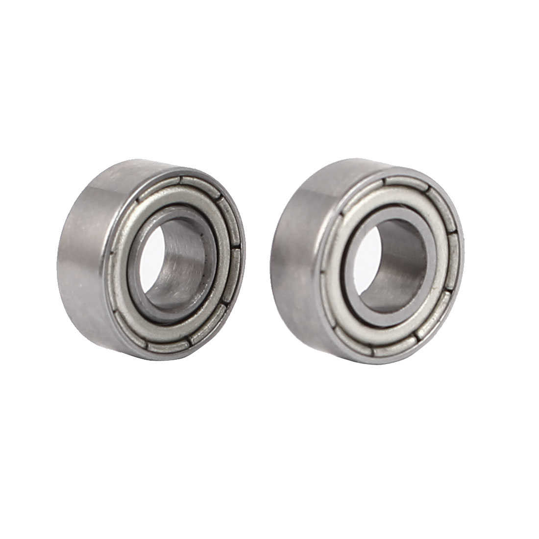 ZZ685 Dual Steel Shields Deep Groove Ball Bearing 11mmx5mmx5mm 2pcs