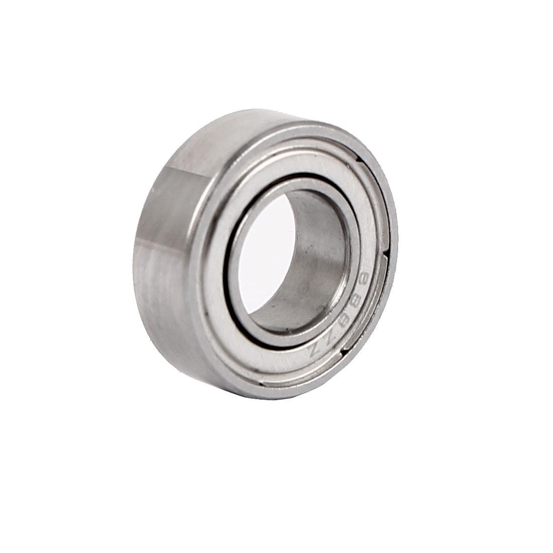 ZZ688 Dual Steel Shields Deep Groove Ball Bearing 16mmx8mmx5mm
