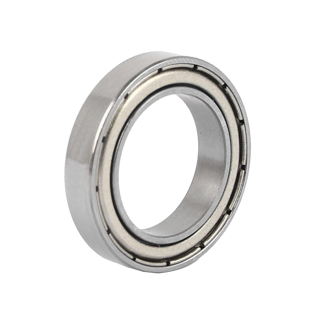 25mm x 37mm x 7mm Double Shielded Deep Groove Wheel Ball Bearing