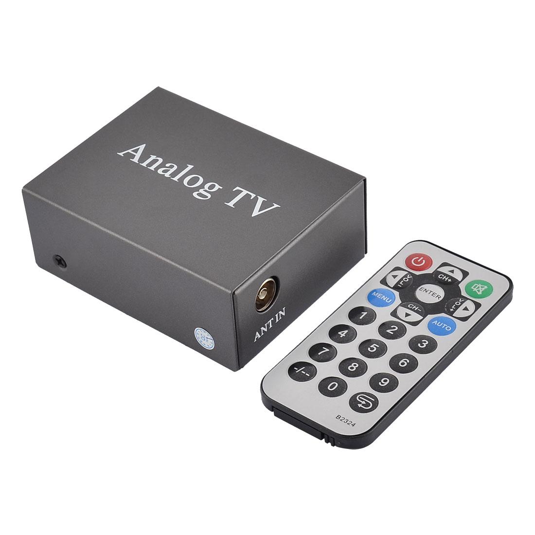 Universal Car Streaming Media DVD Player Game Play Station Preload Analog TV Box
