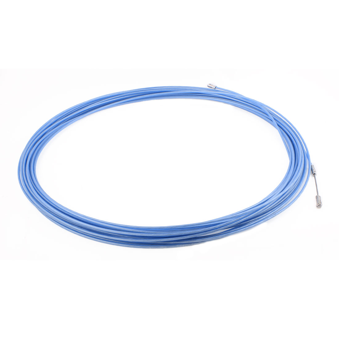 20M 65ft Long Blue Electrical Steel Wire Threader Cable Lead Puller Pulling
