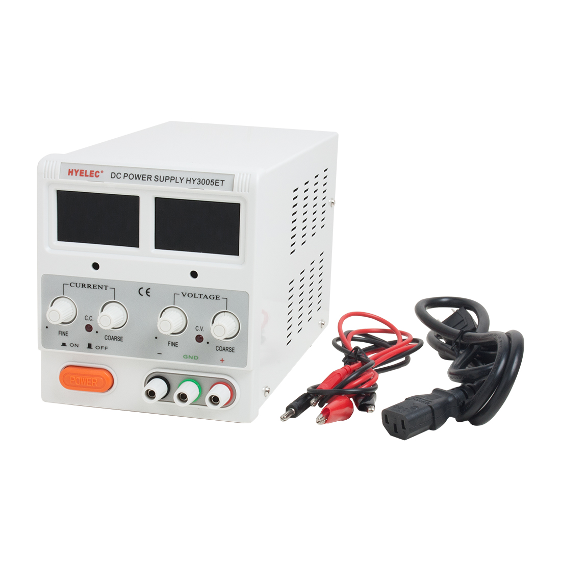 HY3005ET 30V 5A LED Digital Screen DC Adjustable Switching Power Supply