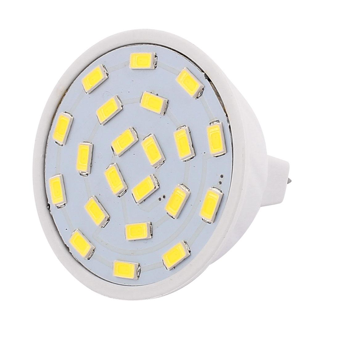 220V 5W MR16 5730 SMD 21 LEDs LED Bulb Light Spotlight Lamp White